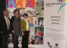 Exhibition large display - Deaf Services Qld