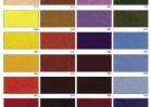 Felt Colour Chart