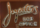 Jupiters illuminated 3d Sign