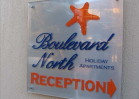 Reception sign - boulevard