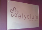 Reception sign - elysium