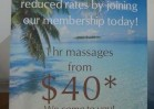 Retractable Banner Coastal Massage