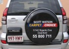 Vehicle wheel cover - carpet one