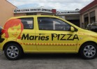 Vehicle wrap - Maries pizza