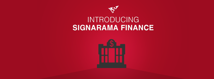 Introducing Signarama Finance