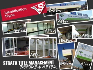 Strata Title Management - Before and After